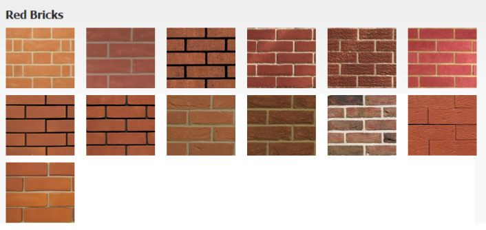 Types of brick red pictures to pin on pinterest pinsdaddy for Brick types and styles
